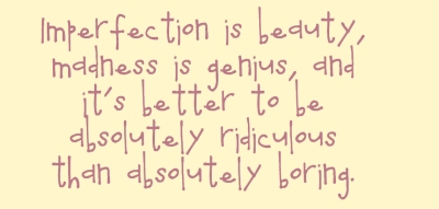 imperfectionisbeauty